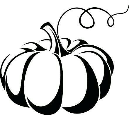 Pin By Toshi On Clip Art Pumpkin Clipart Black And White Pumpkin Vector Cricut Creations