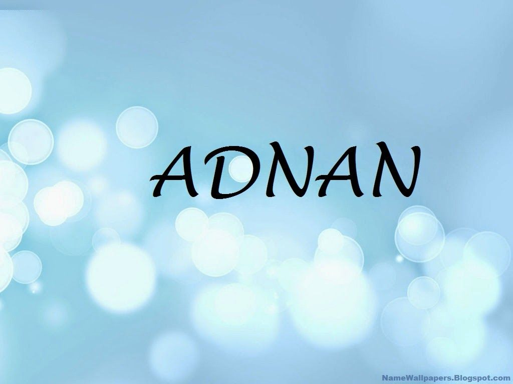 Adnan Name Wallpapers Adnan ~ Name Wallpaper Urdu Name Meaning Name Images Logo Signature ...