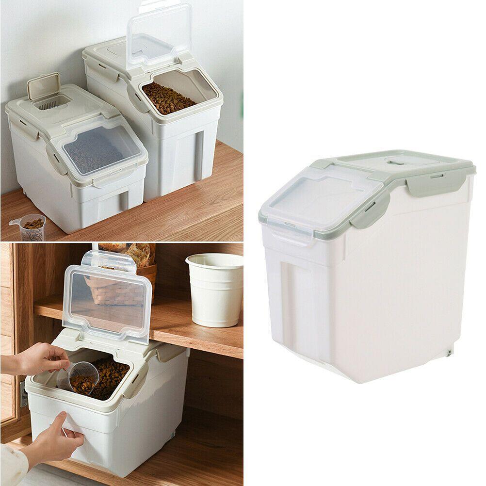 29 89 Pet Dog Cat Food Storage Container Airtight Box Rice