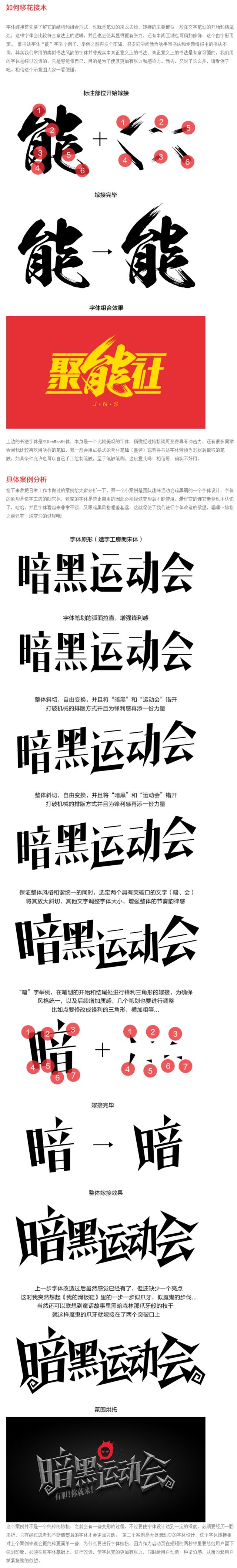 字體設計第1戰-移花接木|工作技巧|酷友觀點/經驗|阿里巴巴1688UED - 設計文章/教程分享 - 站酷 (ZCOOL) | Japanese ...