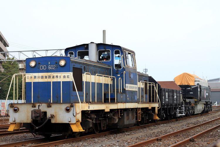 神奈川臨海鉄道 Dd60 2号機 トラ45000 シキ850c 特大貨物輸送 2011 11 10 写 撃 演 習 場 鉄道 写真 鉄道 列車