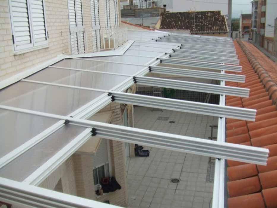Resultado de imagen para cerramiento para patios - Techados para terrazas ...