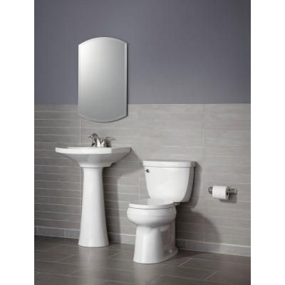 Superieur KOHLER Cimarron 4 In. Centerset Pedestal Combo Bathroom Sink In  White K 2362 4 0   The Home Depot