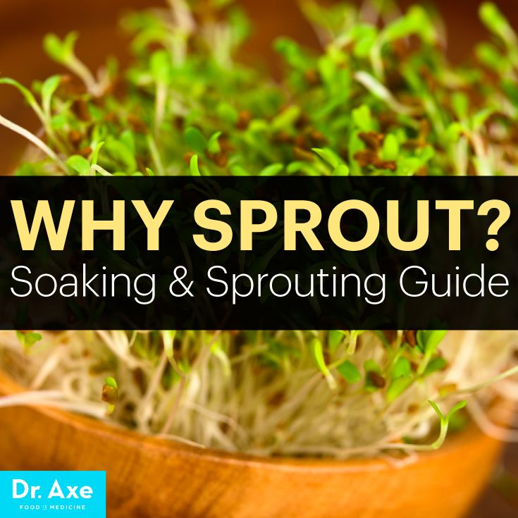 Why Sprout? Great article showing actual research on why sprouting helps  grains/beans/nuts be more beneficial nutritionally.