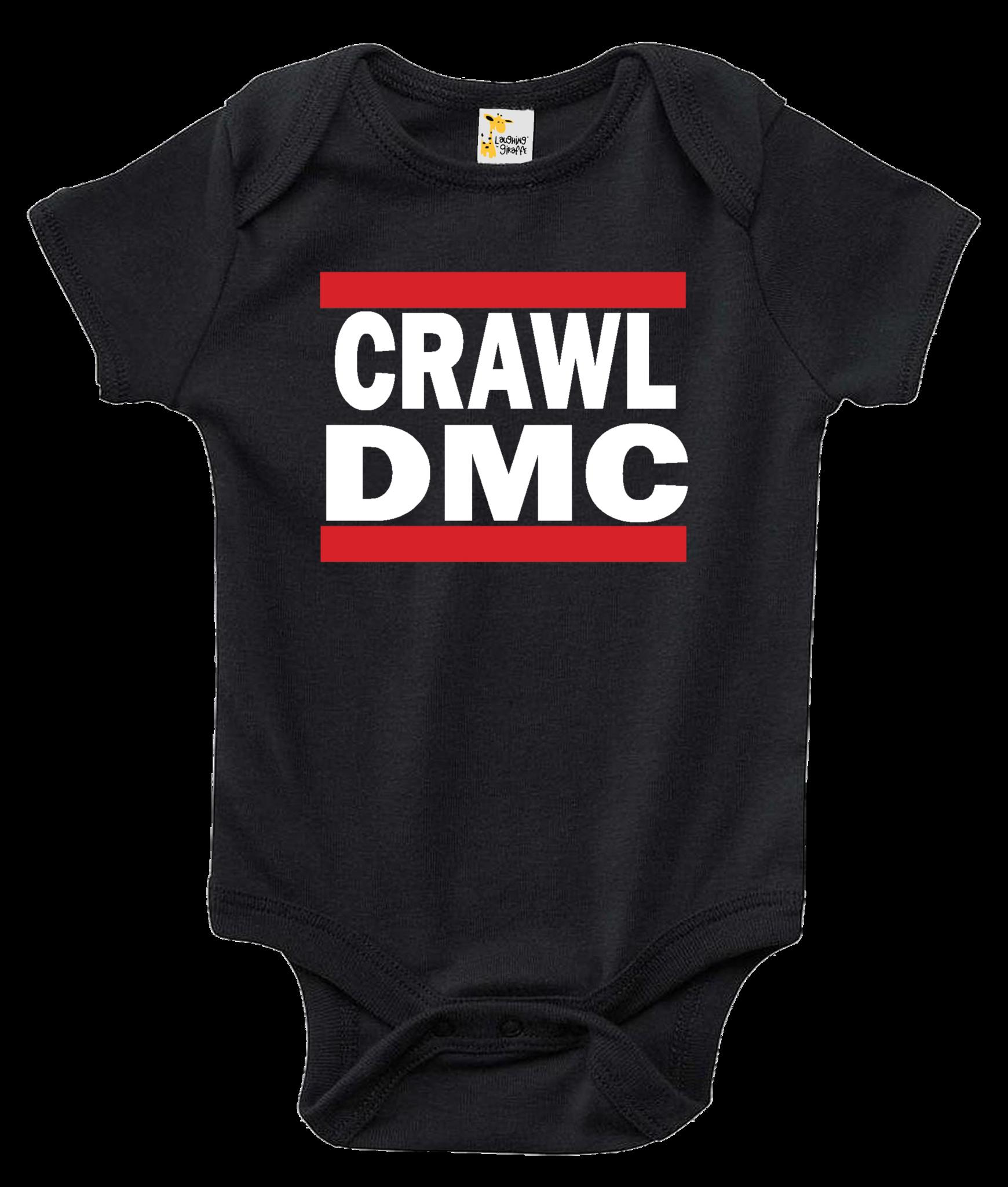 Crawl DMC One-piece Baby Bodysuit
