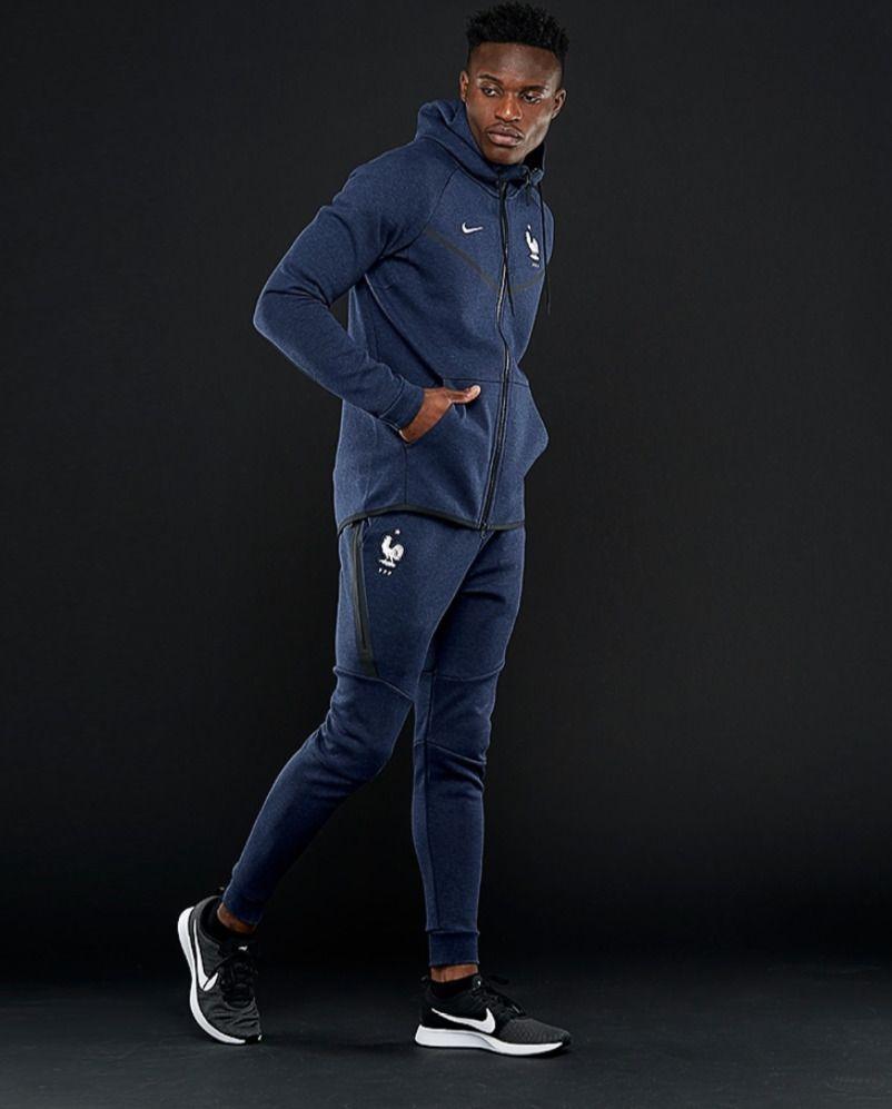 d46ef40c3e0 Nike Team France FFF 2018 NSW Tech Fleece Jogger Pants Sz M World Cup  891314-475 #Nike #Pants