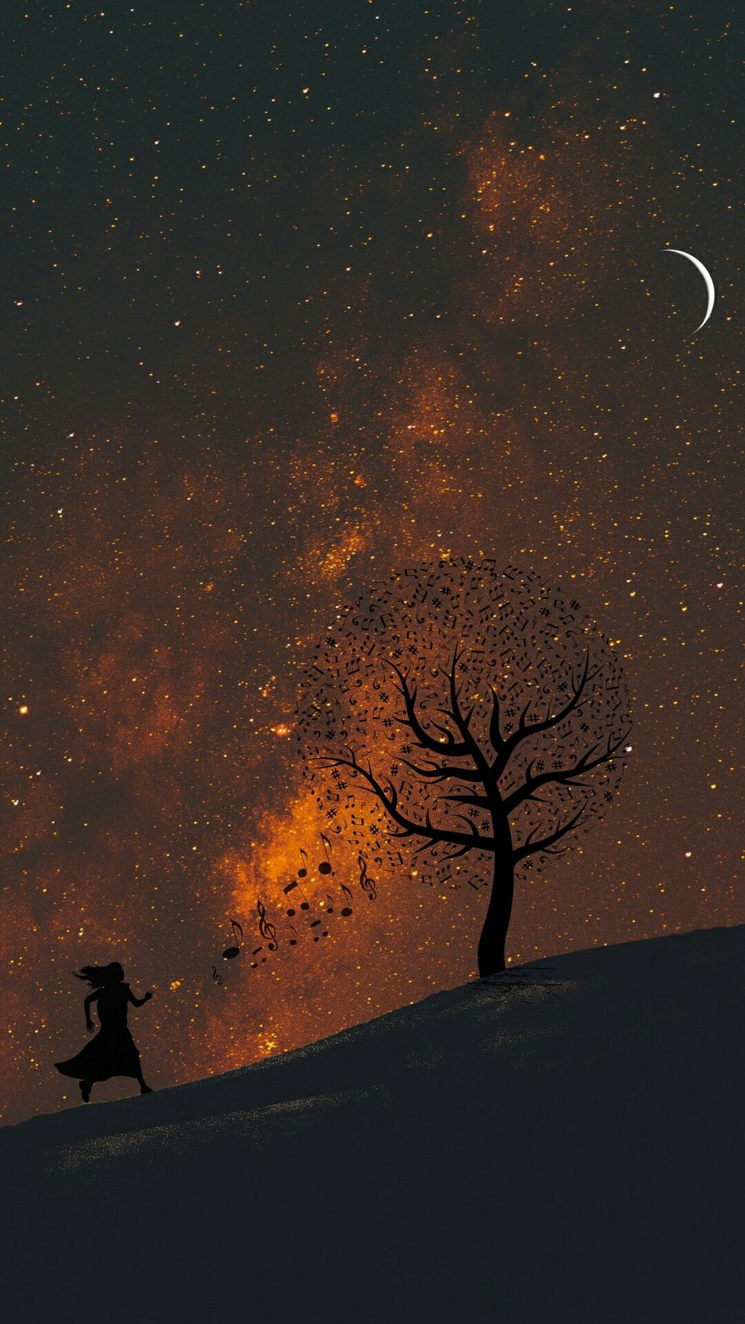 Pin By Efatt Ohh On Wallpaper 4k Background Starry Sky Background
