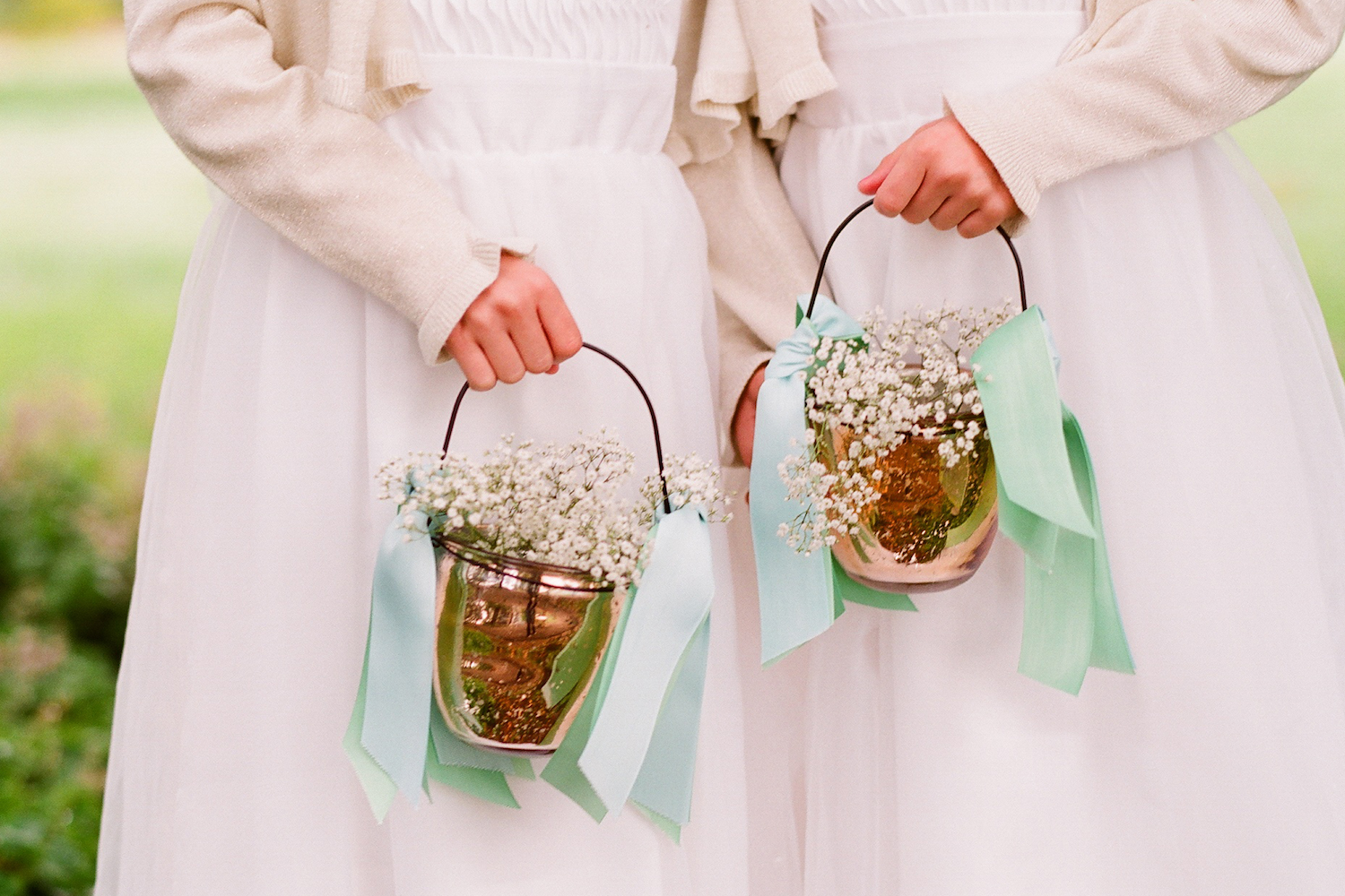 romantic outdoor wedding with Anthropologie inspired