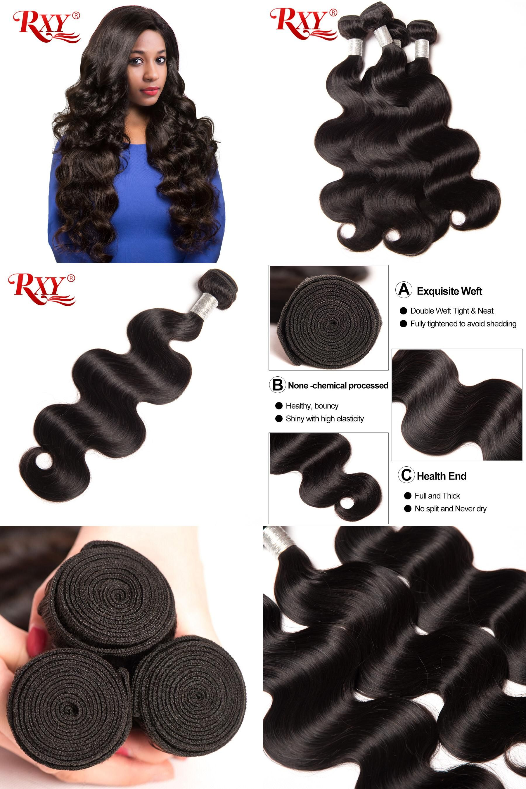Visit To Buy Rxy Brazilian Body Wave Hair Extension 1pc 100