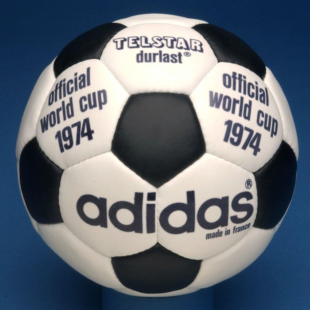 online retailer 54089 69e46 Adidas Telstar Durlast, 1974 World Cup finals official match ball.