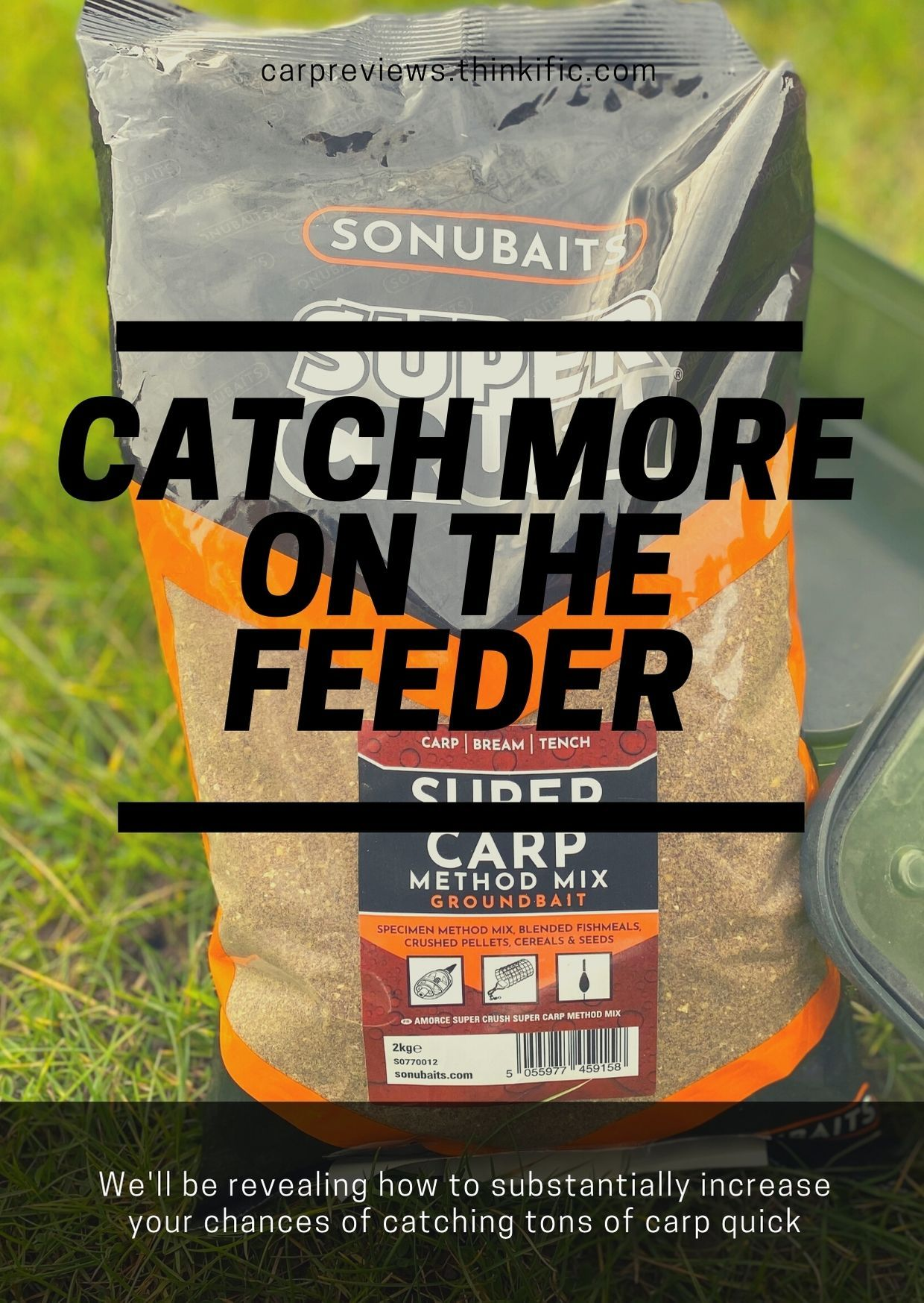 Catch more on the feeder now in 2020 carp fishing bait