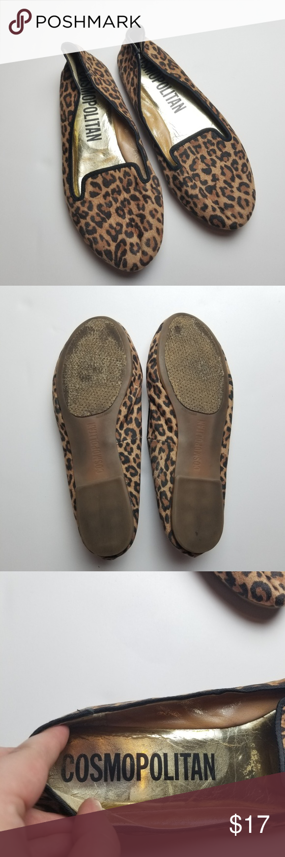 2526ae12de46d Cosmopolitan Cheetah Animal Print Flats Loafers 10 Adorably chic leopard  spots printed fabric loafer   flat