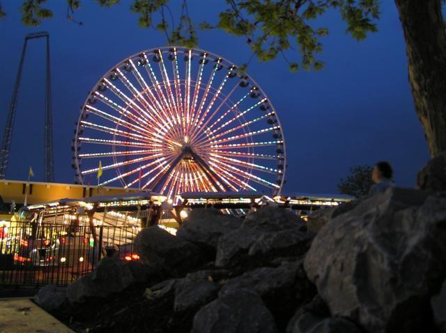 Put new lights on Giant Wheel