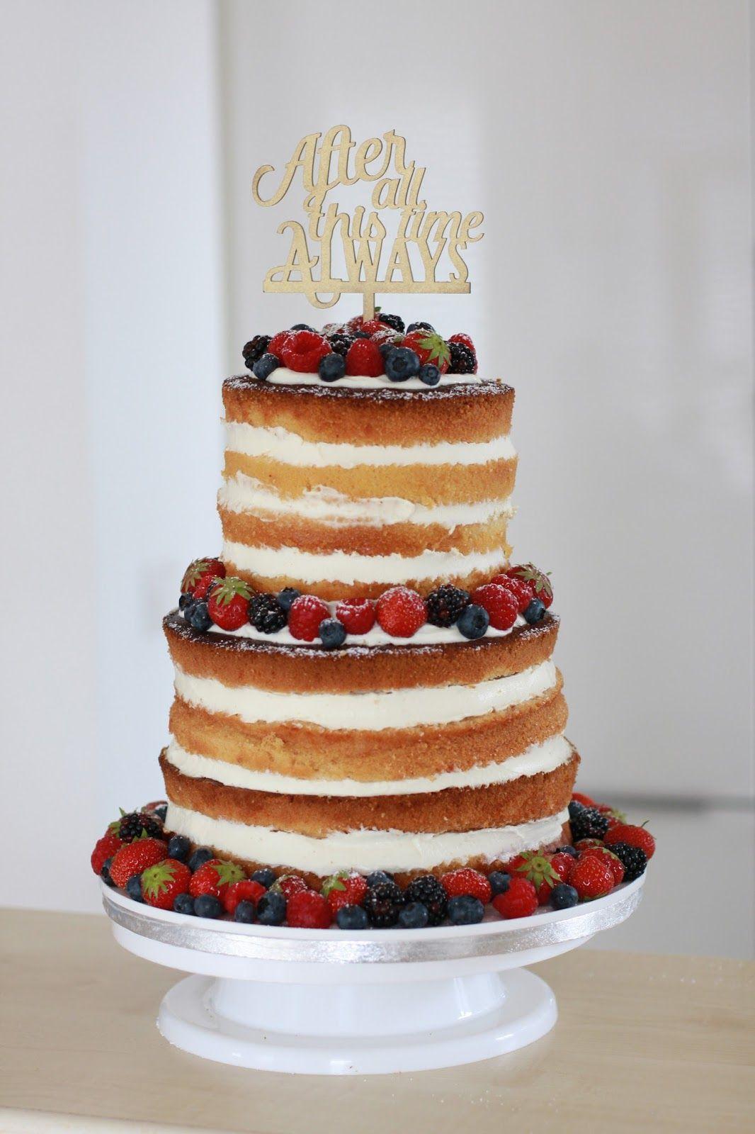 Naked Cake Wedding Cake Wedding Hochzeitstorte Sommer Torte