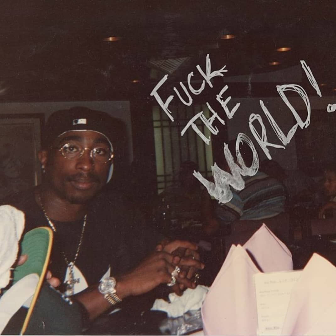 """Tupac Amaru Shakur on Instagram: """"Pac in Hawaii with those legendary Jean Paul Gualtier glasses on July in 1994!  via-@2pac.eternal #2pacshakur #2pacalive #thuglife…"""""""