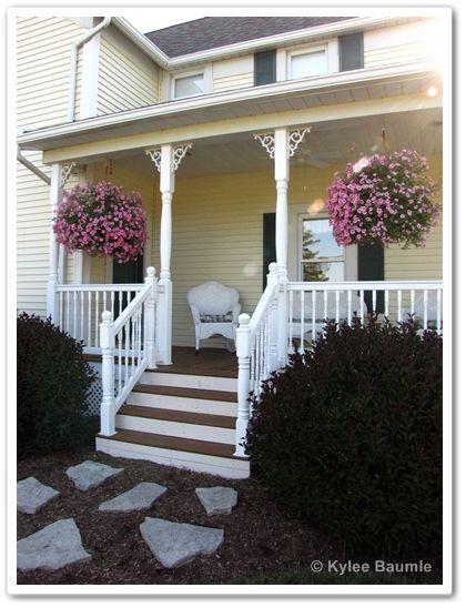 Our Little Acre Ideas Galore From The Van Wert Master Gardeners Garden Walk Exterior House Colors House Exterior Porch Colors