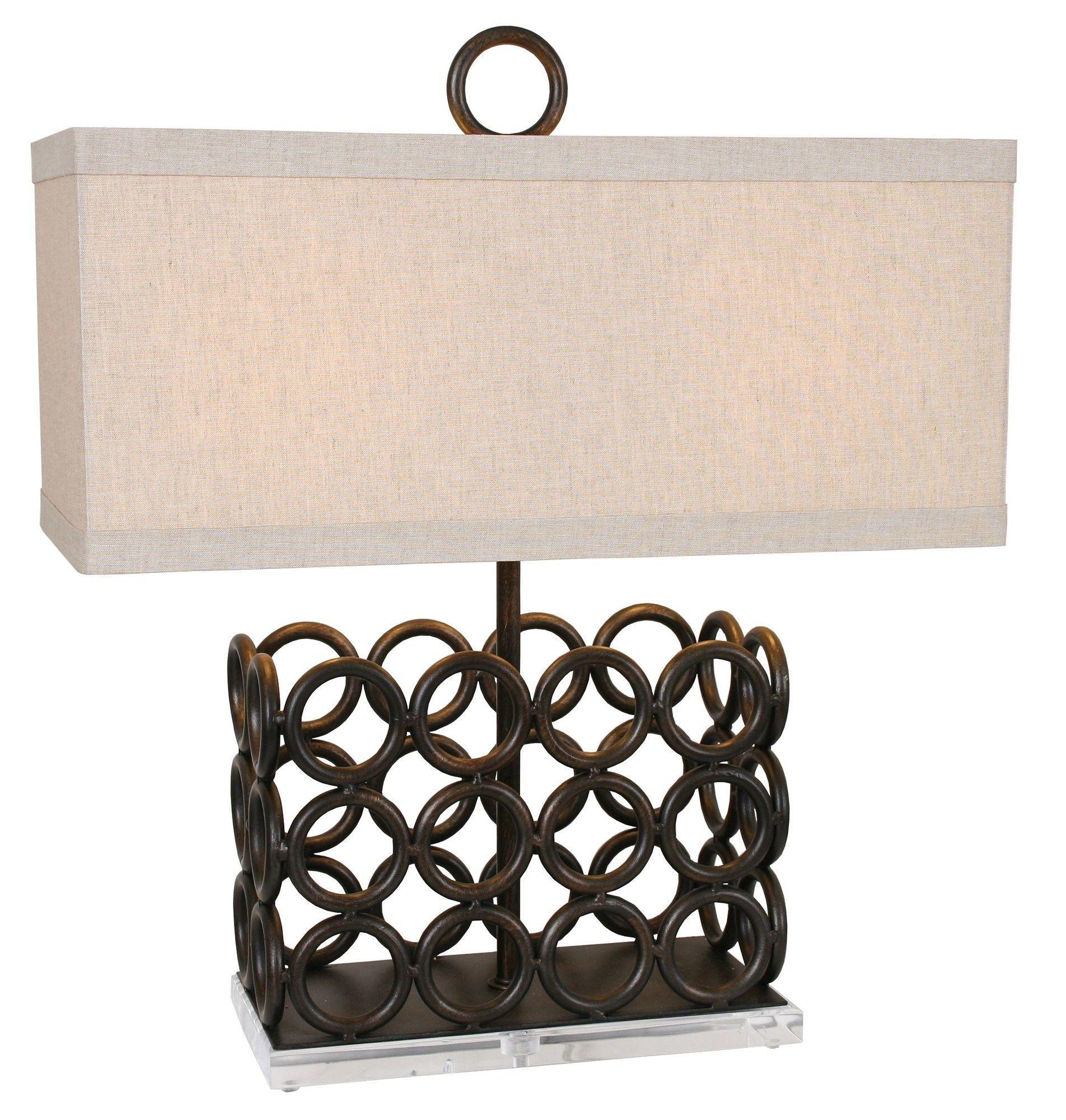 "Chairman 26"" Table Lamp"