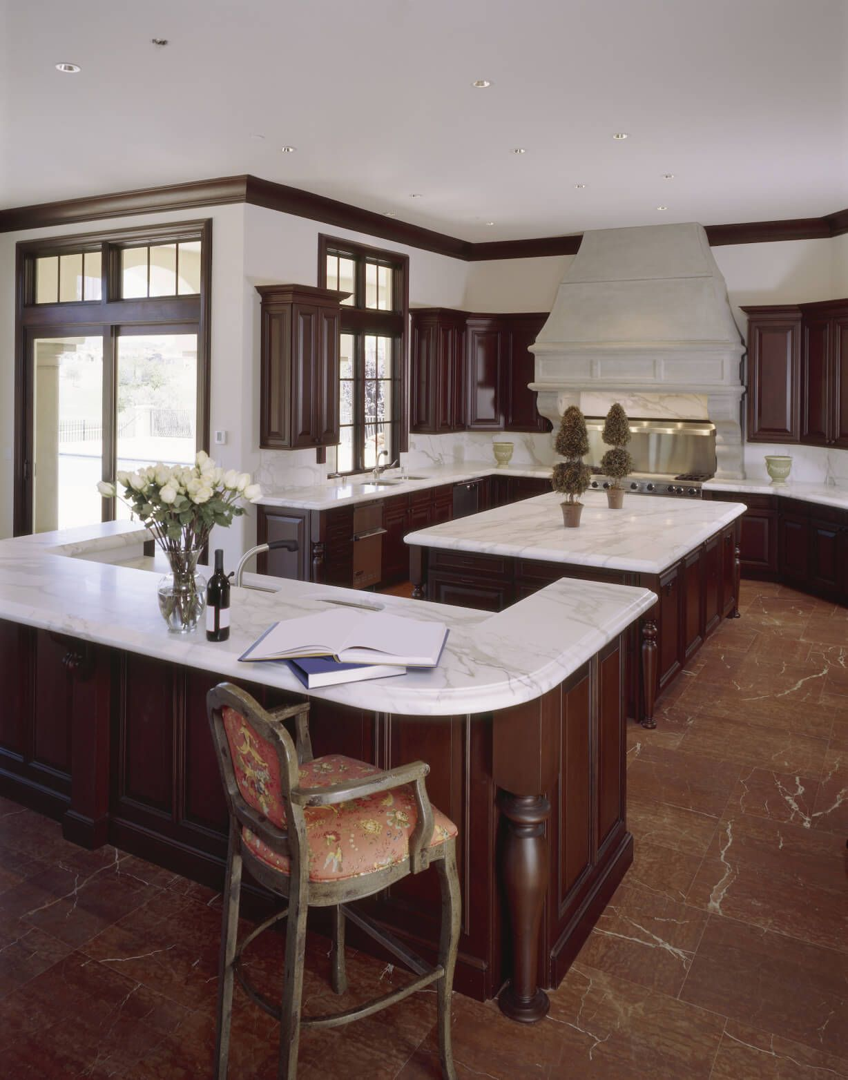 49 Contemporary High-End Natural Wood Kitchen Designs | 56, White ...