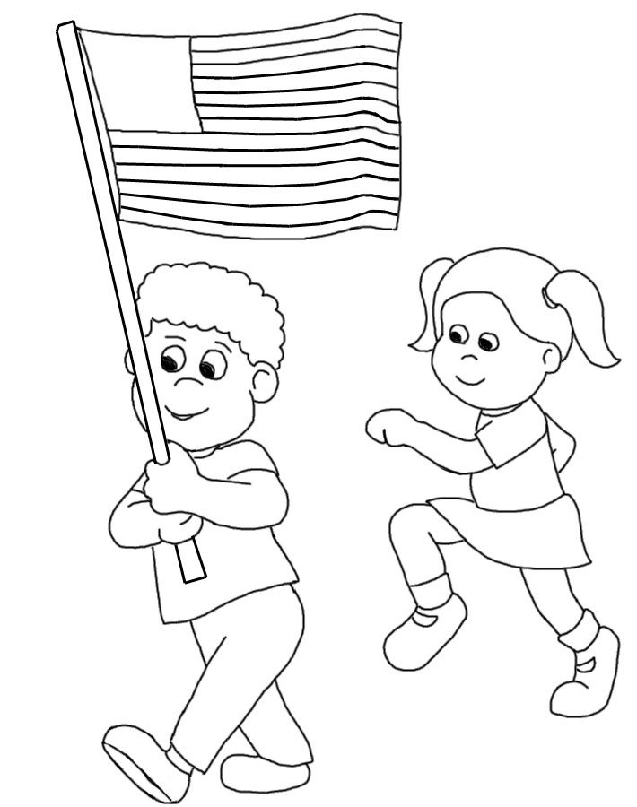 Clip Art American Colonial Flag Color