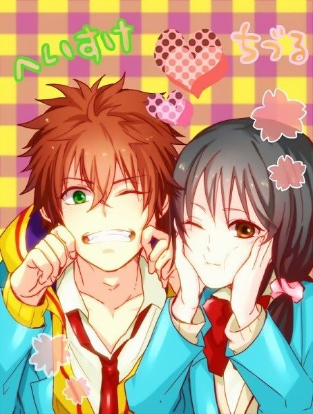 Anime Couple Fanart : anime, couple, fanart, Kawaii, Anime, ♥Kawaii, Couples♥, Anime,, Fanart,, Couple