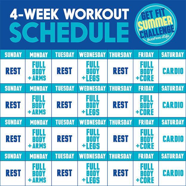 Pintrest Workouts Fitness: Best 25+ Summer Workout Plan Ideas On Pinterest