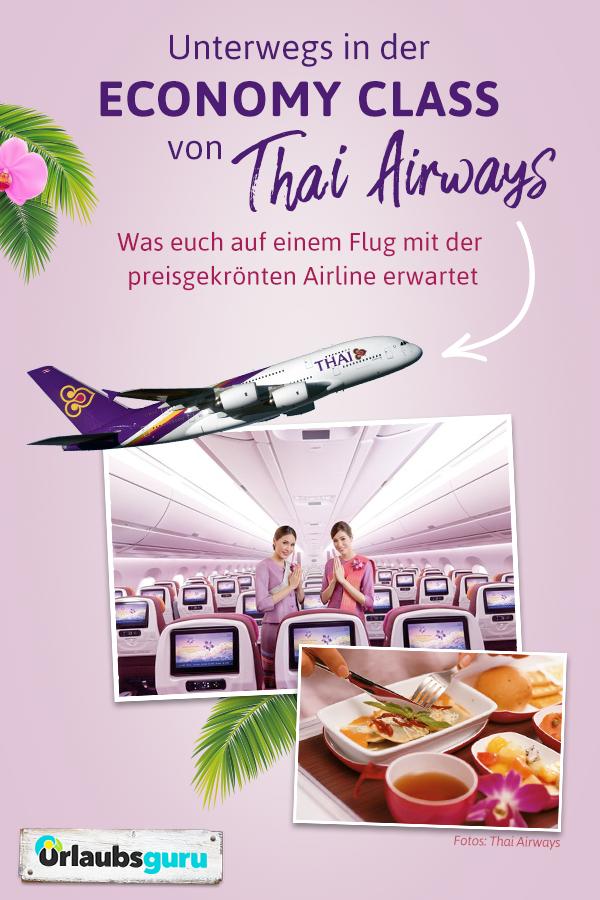 Die Economy Class Von Thai Airways Im Check Urlaubsguru Thailand Und Thailand Urlaub