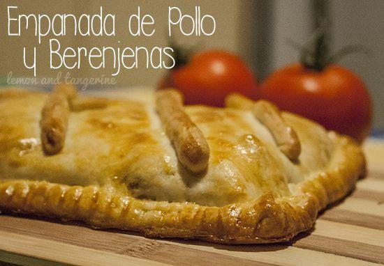 Empanada de Pollo y Berenjenas
