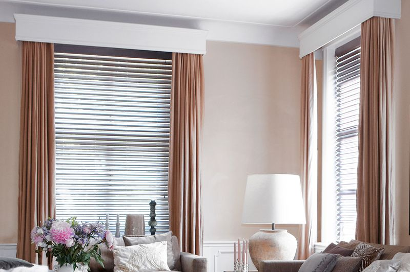 """Butterfly Blinds in """"Taupe"""""""