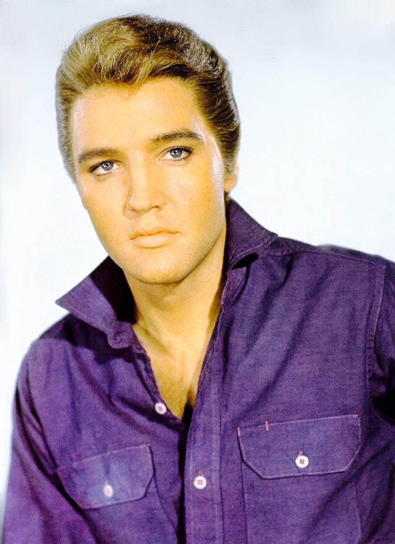 Elvis Presley Promo Photo With Blond Hair Elvis Presley Elvis