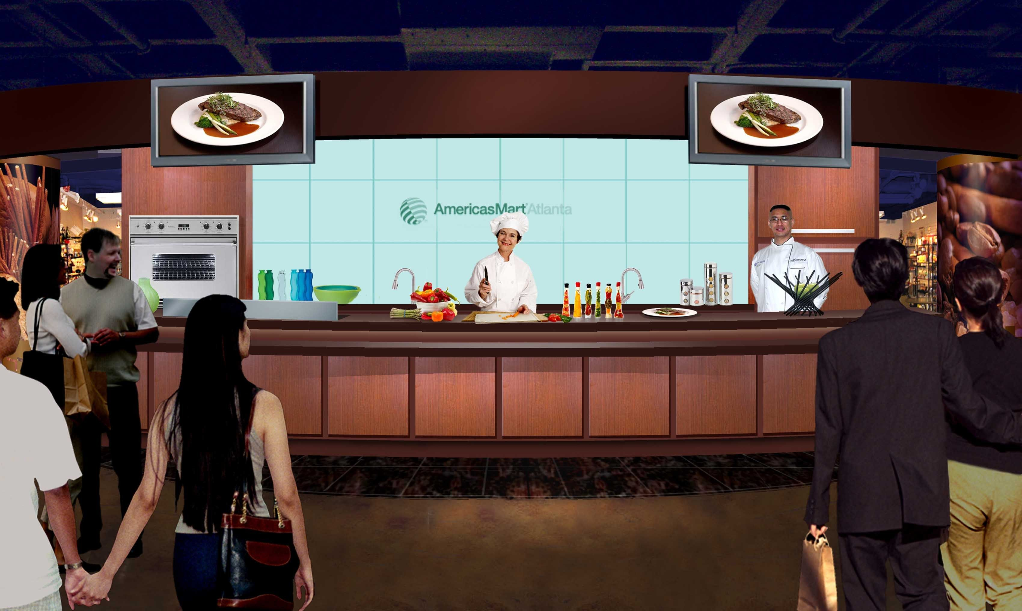 Demo Cooking Class | Trade Show Portable Kitchen | Pinterest ...