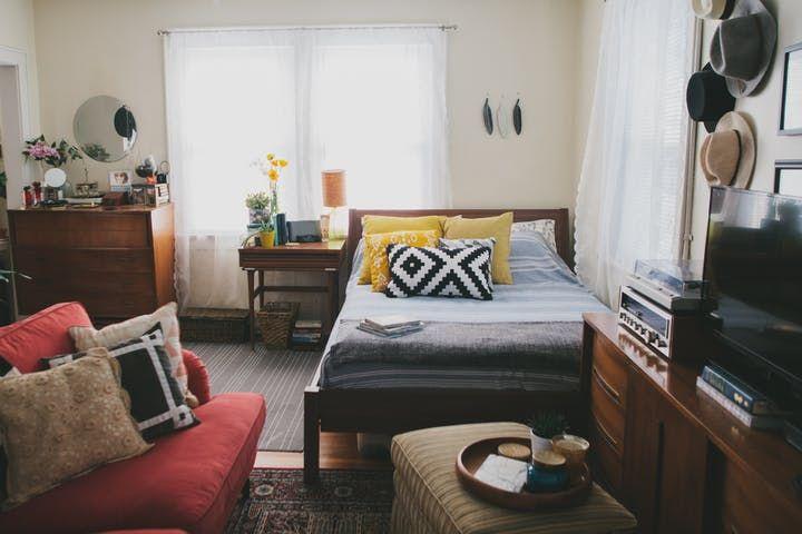 A Tiny Bohemian Vintage Studio With A Twist Studio Apartments