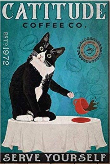 Catitude Coffee Co. (Tuxedo Cat Coffee Company)