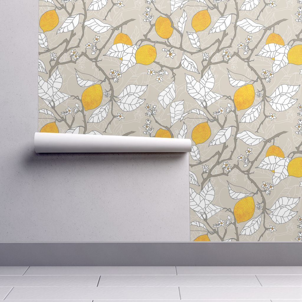 Wallpaper The lemon orchard Peel, stick wallpaper
