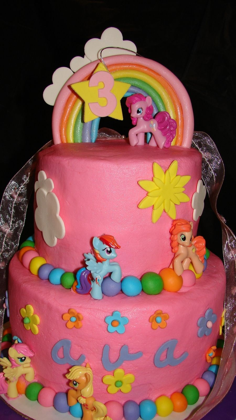 My Little Pony Cakes Pinterest Little Pony Cake Pony Cake And