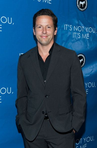 """Ross McCall arrives at the premiere of """"It's Not You, It's Me"""" at Downtown Independent Theatre on September 18, 2013 in Los Angeles, California."""