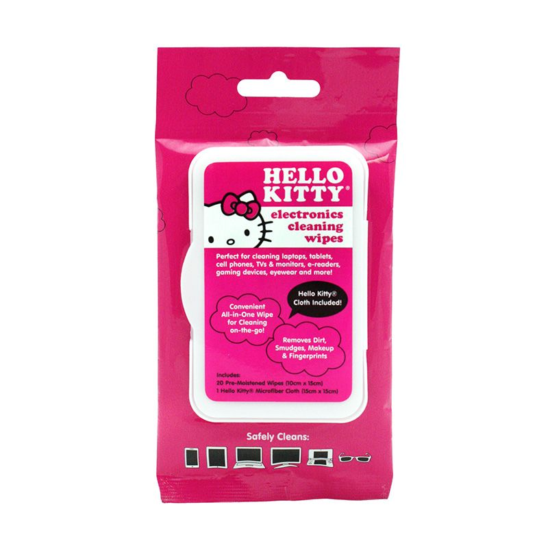 Hello Kitty Electronics Cleaning Wipes, 20ct - no alcohol