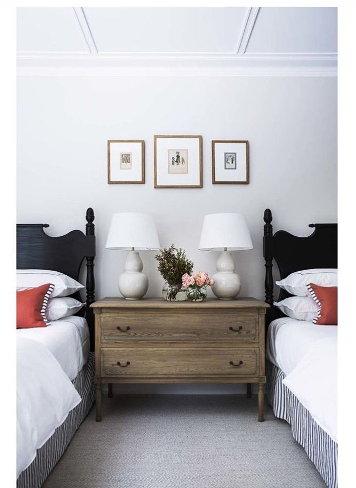 Pin By Jenn On Pp4b Twin Beds Guest Room Classy Bedroom