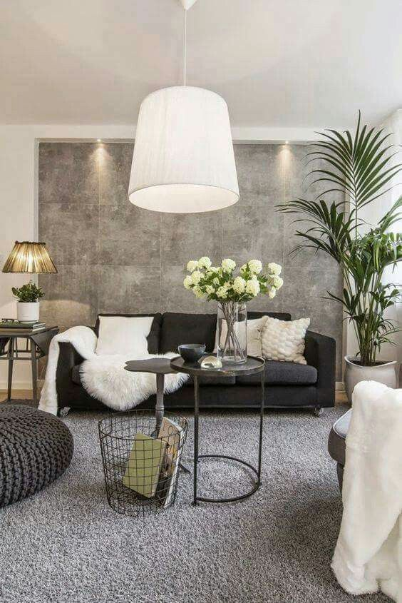 Here Is An Idea To Break Up A Large Wall And Add Texture To Your