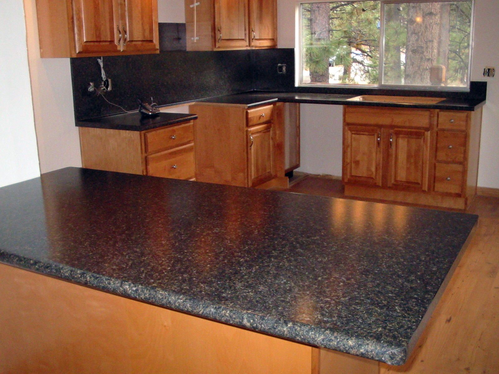 Laminate Kitchen Backsplash Formica Backsplash Edge And Coved Waterfall