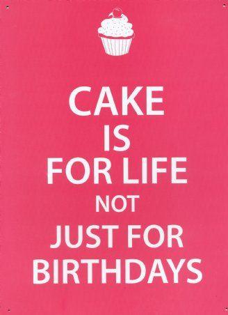 Cake is for life | Raccolta di torte per compleanni e non | About My Bakery