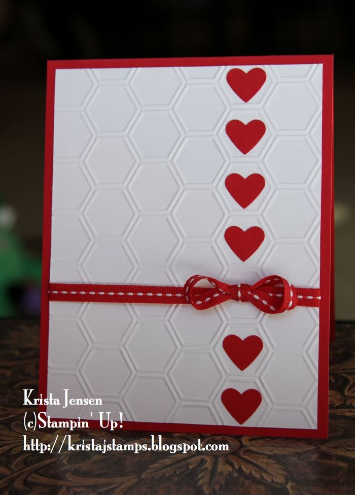 The 25 best homemade valentine cards ideas on pinterest for Valentines day card making ideas