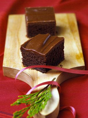 Moist and cake-like, these brownies are sometimes called Texas sheet cake. Because the bars are baked in a 15x10-inch pan, you'll have enough to feed a crowd.