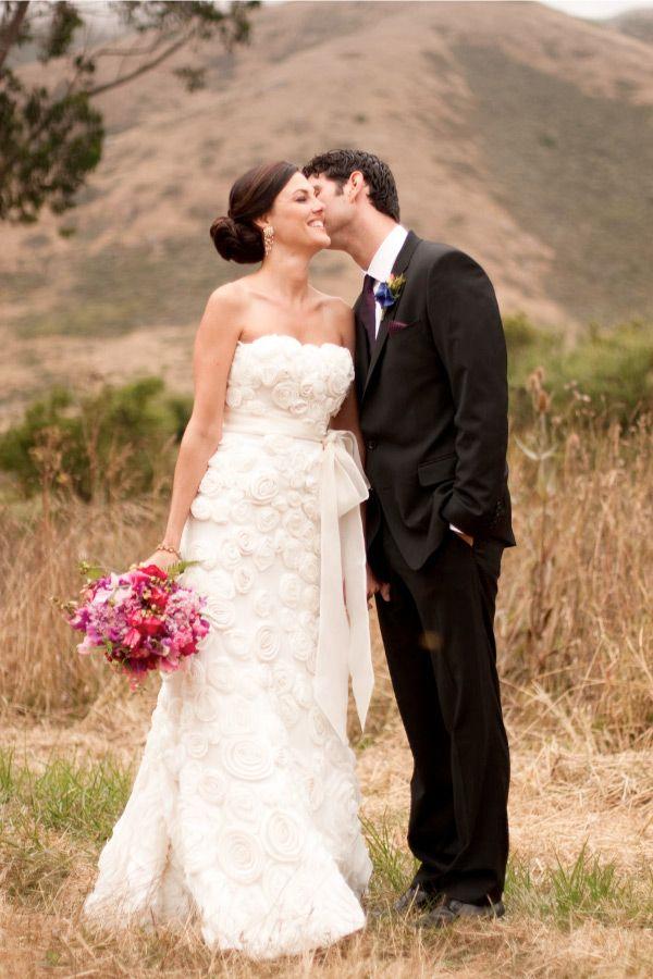 Green Wedding By Julie Mikos Fall Wedding Dresses Colored Wedding Dresses Cute Wedding Dress