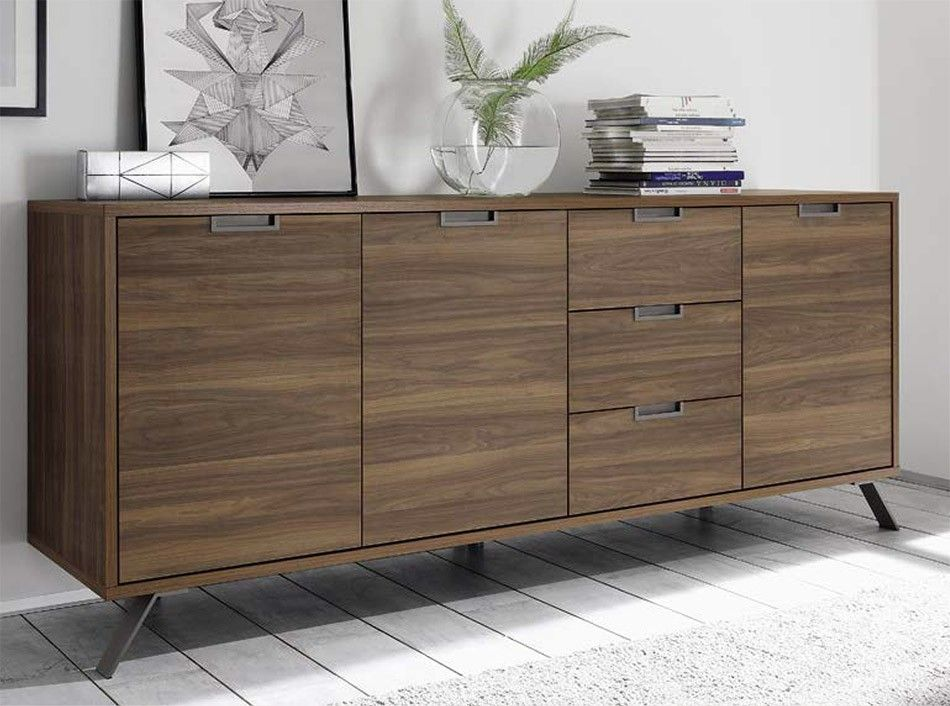 Modern Sideboard Palma By LC Mobili 3 Door 3 Drawer   $799.00