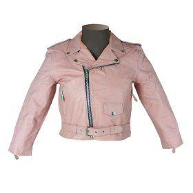 Kids Leather Jackets Girls Kids Basic Leather Motorcycle Jacket