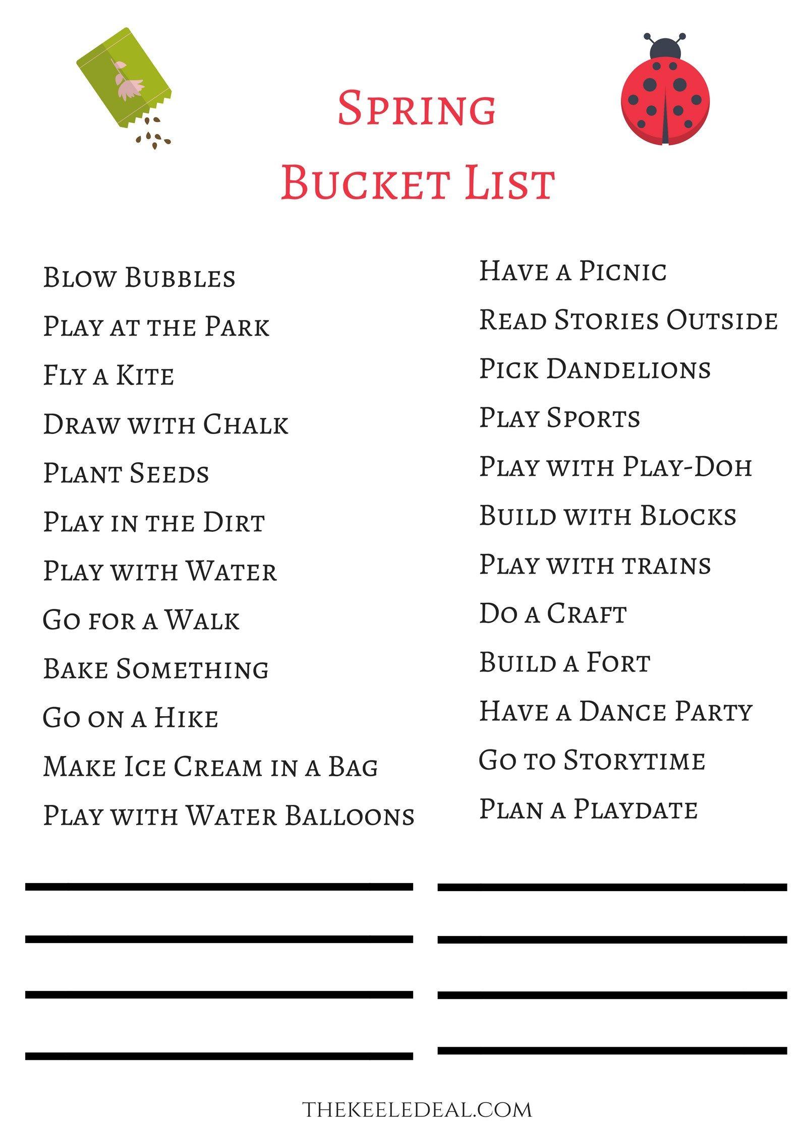 24 Fun Toddler Spring Activities