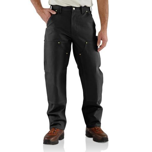 Carhartt Homme Double Front Dungaree coton pantalons de travail Pantalons