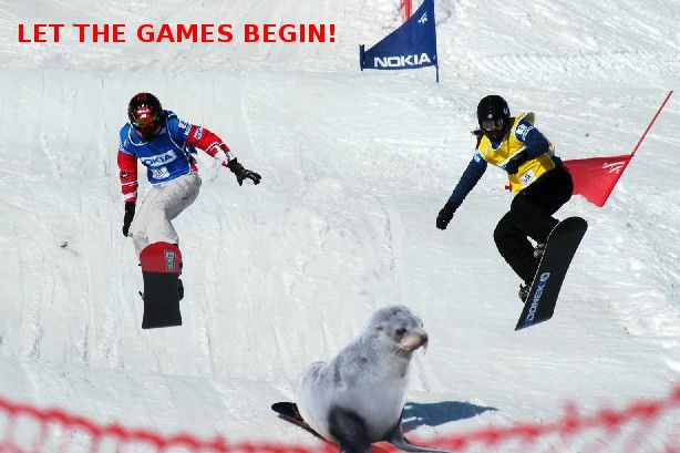 Just a little something to celebrate the start of the winter Olympics. Good luck Team GB & Canada.