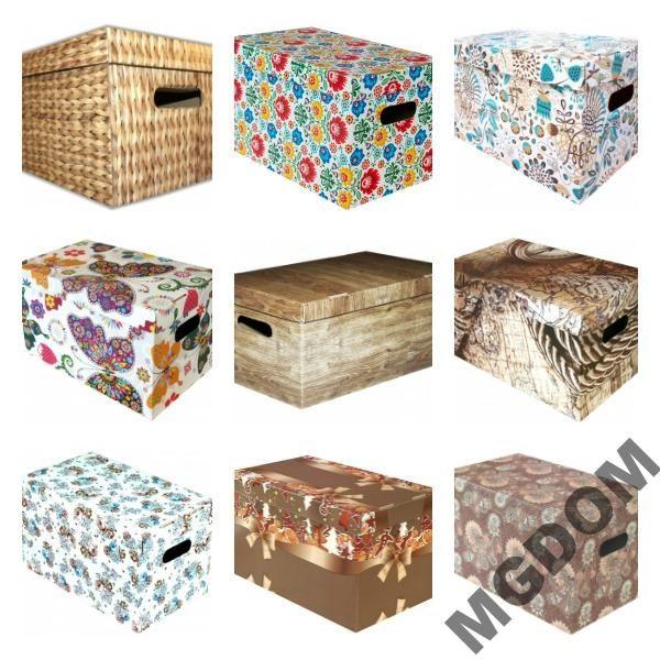 Pudelko Kartonowe Pudelka Ozdobne Karton Duze Xxl 4967713000 Oficjalne Archiwum Allegro Decorative Boxes Box Decor
