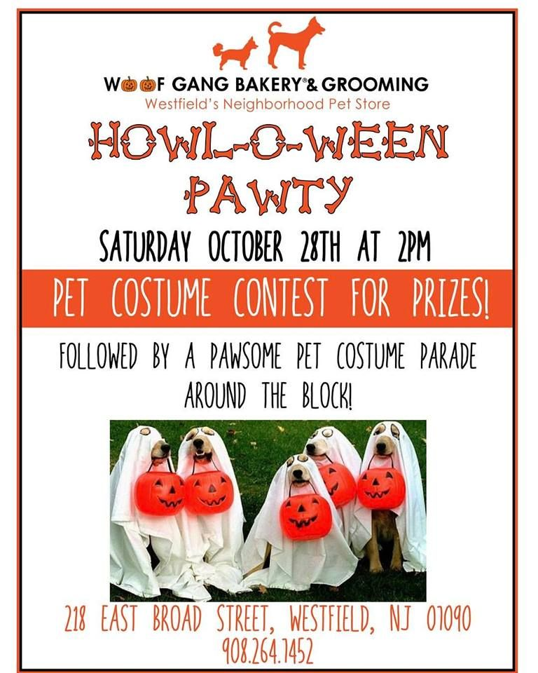 Join Us At Woof Gang Bakery Westfield For Our Howl O Ween Pawty